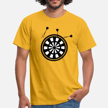 Dart Board funny Shirt - Men's T-Shirt
