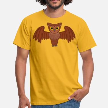 Without Background Owl (without background) - Men's T-Shirt