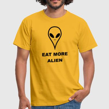 Eat more Alien - Männer T-Shirt