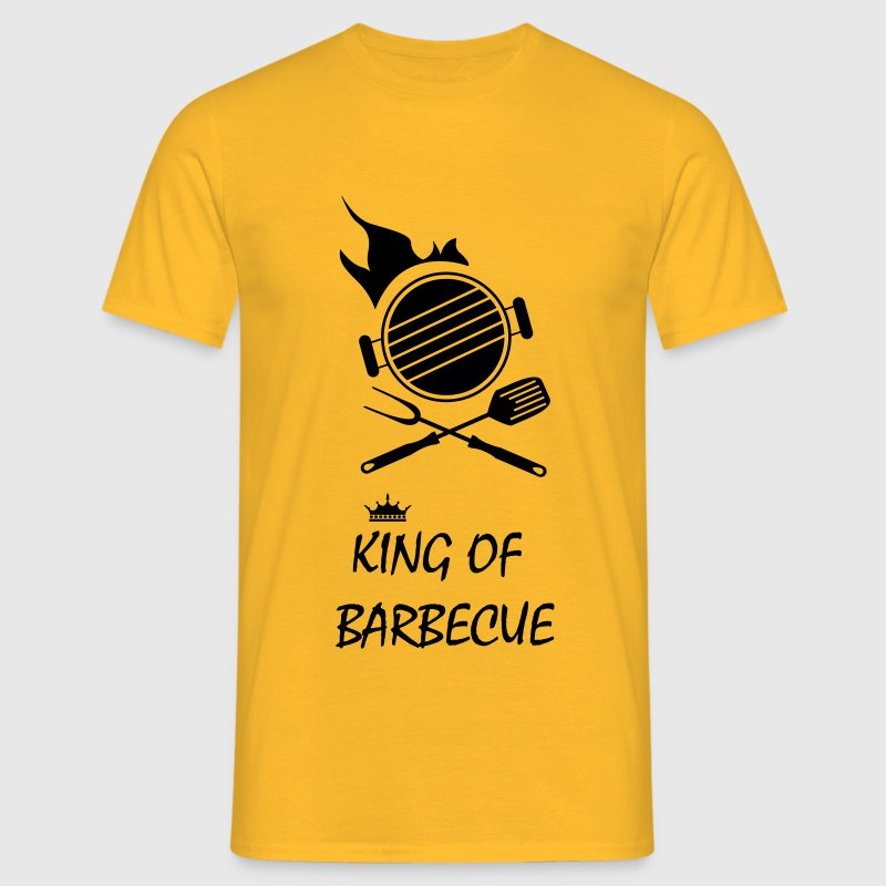king of barbecue grillade - T-shirt Homme