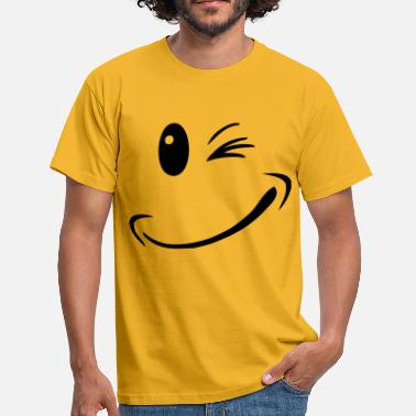 Smileys Nature heureux smiley sourire - T-shirt Homme