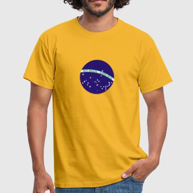 Not Brazil - Norn Iron (Brazil flag) - Men's T-Shirt