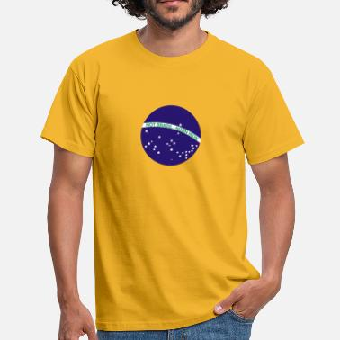 Belfast Not Brazil - Norn Iron (Brazil flag) - Men's T-Shirt