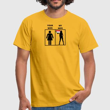 Sudan Sudan gift my your wife - Men's T-Shirt