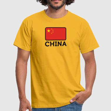 National-socialisme Drapeau national de Chine - T-shirt Homme