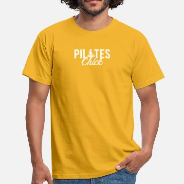 Pilate Pilates Fitness Chick - T-shirt Homme