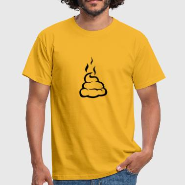 shit Pooh cow dung Dirt 1503 - Men's T-Shirt