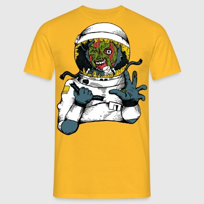 Space-virus - Herre-T-shirt