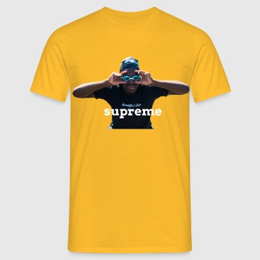 SUpreme can't see da haters - T-shirt Homme