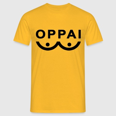 Oppai One punch man - Men's T-Shirt