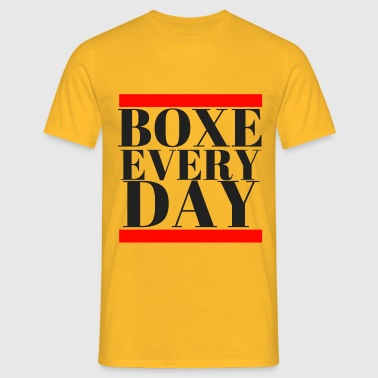 boxe everyday  - T-shirt Homme