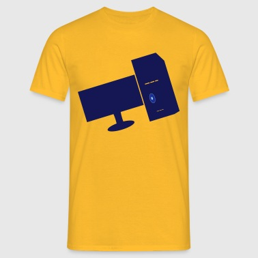 computers - Mannen T-shirt