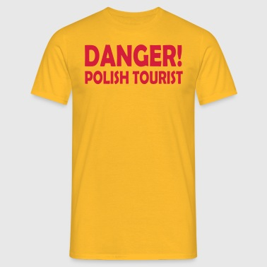polish tourist - Men's T-Shirt