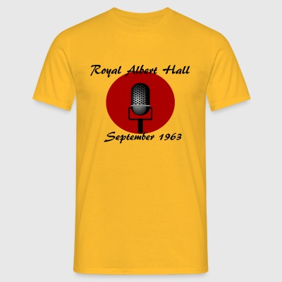 1963 Royal Albert Hall - Mannen T-shirt