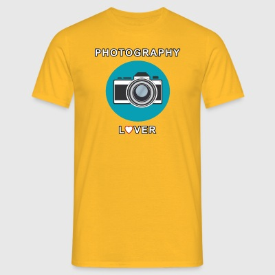Photography Lover - Men's T-Shirt