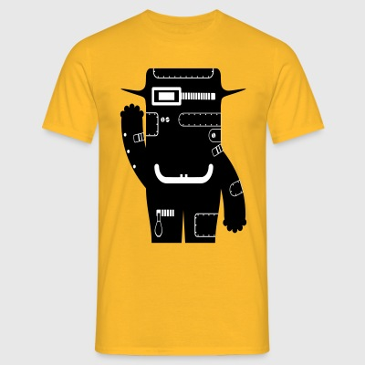 Philipp - Tech Monster Collection - Herre-T-shirt