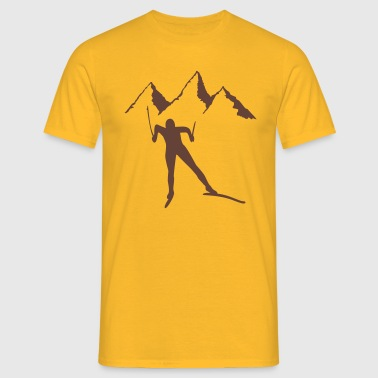 snowy - Men's T-Shirt