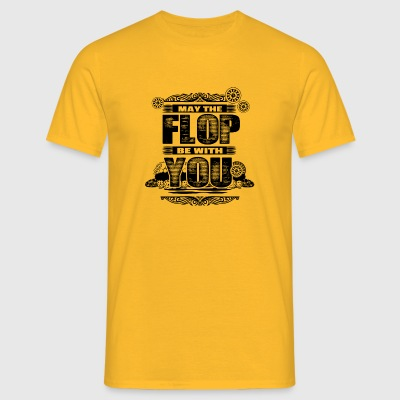 LIKE THE FLOP WITH YOU - POKER - Men's T-Shirt