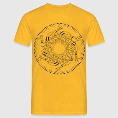 mandala turntable 1210 - Men's T-Shirt