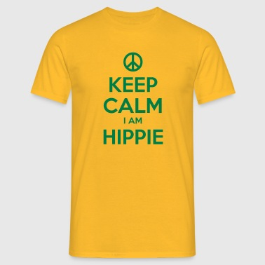 HIPPIE - T-skjorte for menn