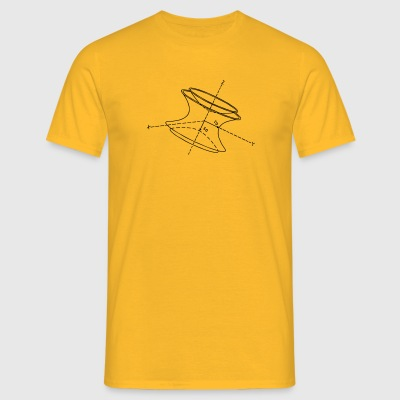 Physics Paul val - Mannen T-shirt