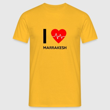 I Love Marrakech - I Love Marrakech - T-shirt Homme