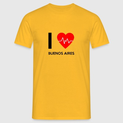 J'aime Buenos Aires - I love Buenos Aires - T-shirt Homme