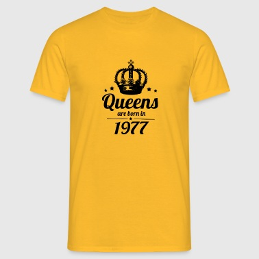 Queen 1977 - Men's T-Shirt