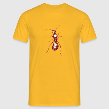 red ant - Men's T-Shirt