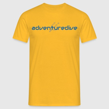 adventuredive - Männer T-Shirt