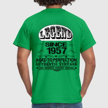 59th Birthday Gift Vintage 1957 LEGEND SINCE 1957 - Men's T-Shirt