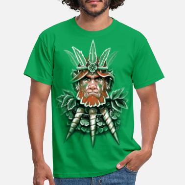 St Patricks Day Wild Leprechaun - Men's T-Shirt