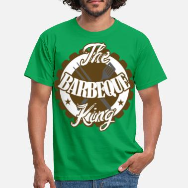 Roi Le roi barbecue - T-shirt Homme