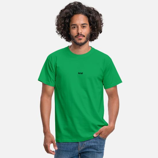 Kunst T-Shirts - arial - Männer T-Shirt Kelly Green