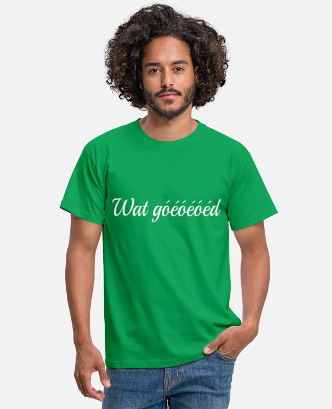 Tv T-shirts - Chateau Meiland - Mannen T-shirt kelly groen