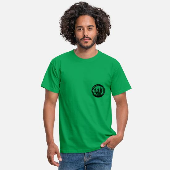 Rebel T-shirts - Irish Republican Phoenix - Mannen T-shirt kelly groen
