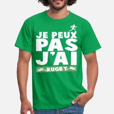 Rugby Femme JE PEUX PAS J'AI RUGBY - T-shirt Homme