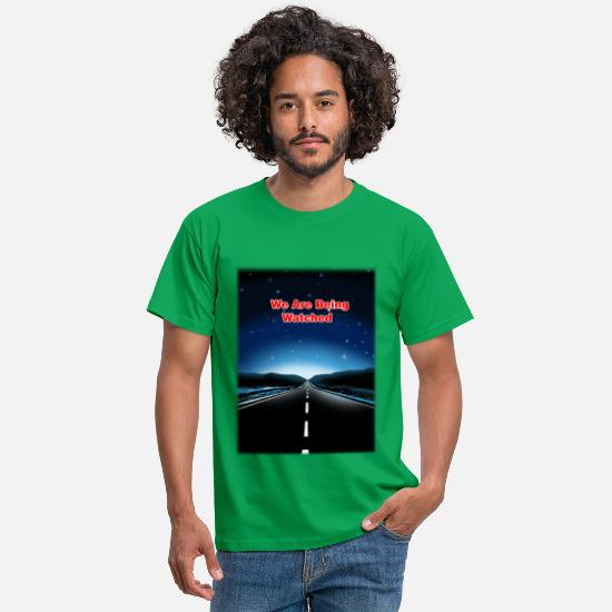 Sciencefiction T-shirts - Nous sommes edwatch - T-shirt Homme vert
