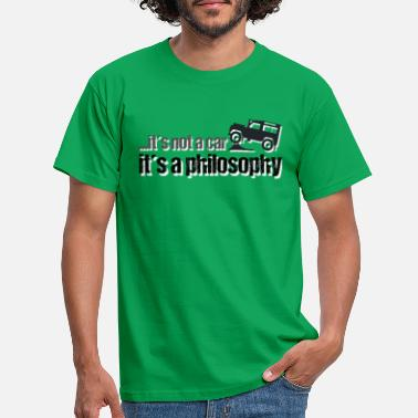 Land Land-Rover Defender Philosophy - Men's T-Shirt