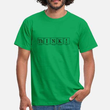 Atomkraft ThINK names - Männer T-Shirt