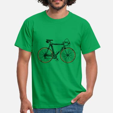 Bike Biker Bike Jersey E Bike Mountain Bike MTB Shirt - T-shirt mænd