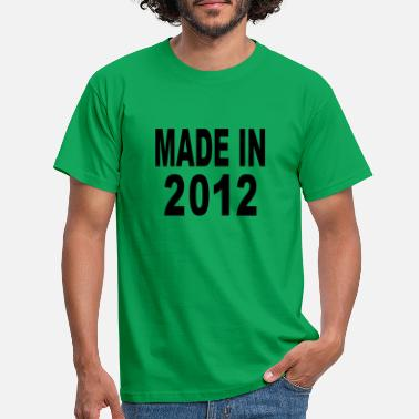 2012 Made in 2012 - Männer T-Shirt