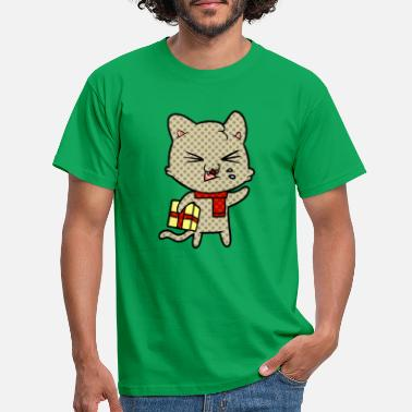 Evergreen T-Shirt da uomo Best Cat Dad Ever Funny Cat Dad Fathe - Maglietta uomo