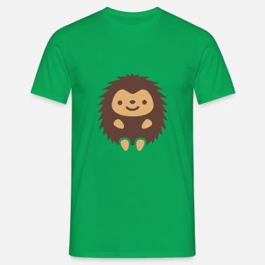 Contraste HombreSpreadshirt Bubu Bubu Hedgehog Camiseta zMpSUVLGq