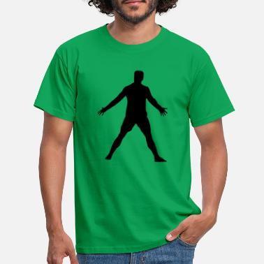Pose Cristiano pose - Mannen T-shirt