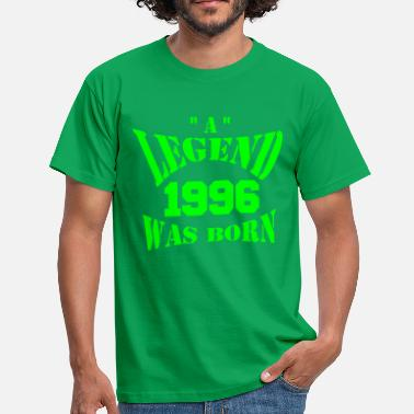 Legends Ae Born In 1996 a legend was born - Männer T-Shirt