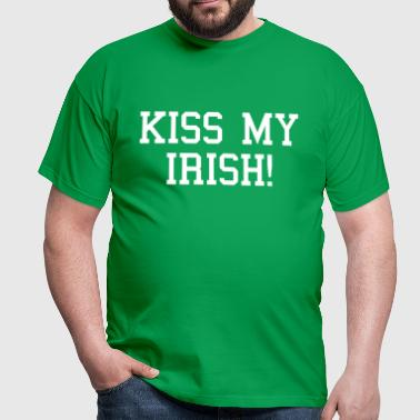 Kiss My Irish - Mannen T-shirt