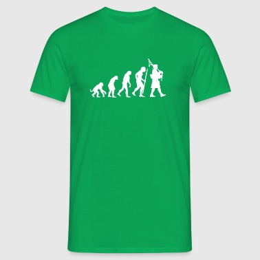 Evolution Pipebag - Männer T-Shirt