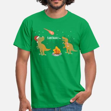 Trex Merry Extinction - Men's T-Shirt