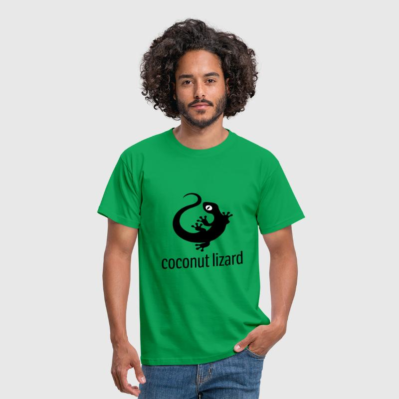 Coconut Lizard - Men's T-Shirt